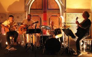 Alzy Trio (avec Jean-Pierre Jackson à la batterie). Tanger. Novembre 2009.